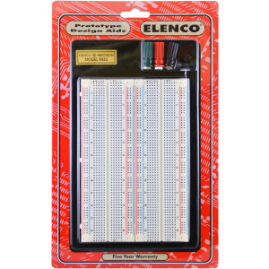 ELENCO Solderless Breadboard 1660 Tie Points