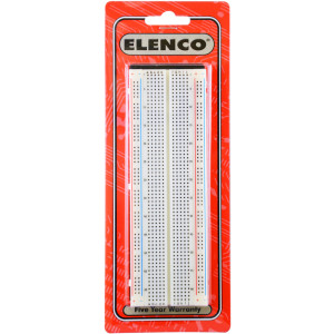ELENCO Solderless Breadboard 830 Tie Points