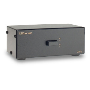 RUSSOUND Dual Source Two-Way Speaker Selector