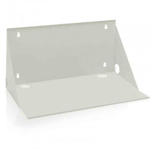 "ATLAS Wall Mount Shelf 12"" Deep White Finish"