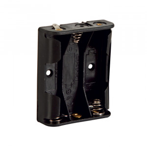 VELLEMAN Battery Holder for 3 'AA' Batteries with solder terminals