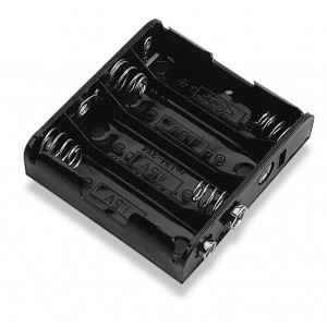 PHILMORE Battery Holder for 4 'AA' Batteries