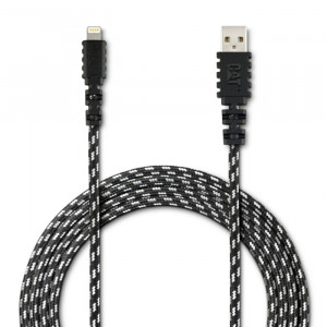 CAT 10ft Certified Apple Lightning to USB Charge/Sync Cable