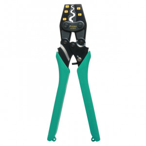 ECLIPSE Ratcheted Crimper for Non-Insulated terminals AWG 22-6