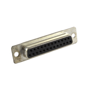PHILMORE DB25 Female Solder Connector