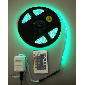 ELYSSA LED RGB 4-Effect Strip 16ft Water Resistant