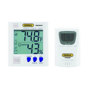 GENERAL TOOLS Wireless Temperature-Humidity Meter