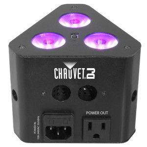 CHAUVET DJ EZWedge Tri Battery Powered Tri-color