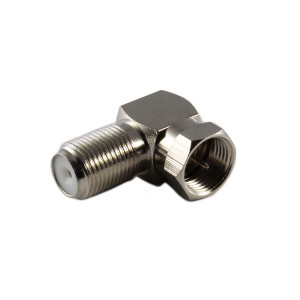 PHILMORE F-Type Right Angle Adaptor Male to Female