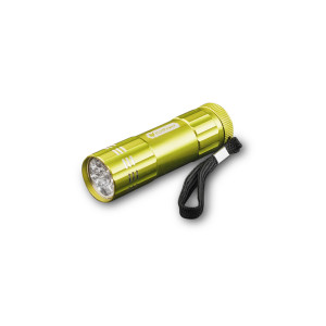 GOGREEN 9-LED Flashlight, Lime