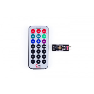 OSEPP IR Receiver Module with Remote