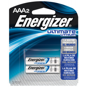 ENERGIZER Ultimate Lithium AAA Battery 2pk
