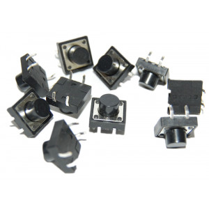 OSEPP Momentary Push Button Switch 10pc