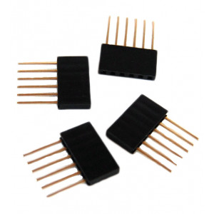 OSEPP Arduino Stackable Header 6 Pin 4pcs