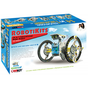OWI 14 in 1 Solar Robot Kit