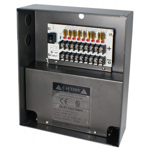 SPECO 9 Channel 12VDC with 10A Output Power Supply