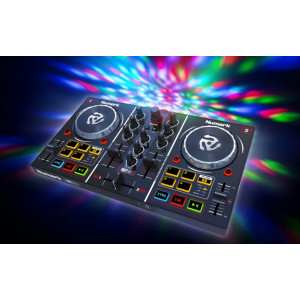 NUMARK DJ Controller with Built In Light Show