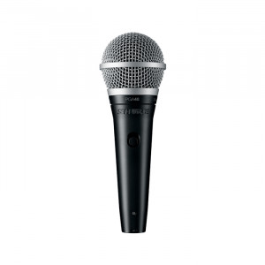 """SHURE PGA48 Cardioid Dynamic Vocal Microphone with 15ft 1/4"""" Cable"""