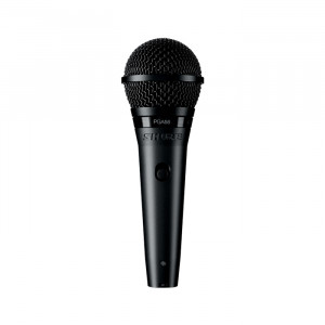 """SHURE PGA58 Dynamic Mic with On-Off Switch and15ft 1/4"""" Cable"""