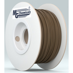 MG CHEMICALS 1.75mm PLA 3D Printer Filament 1kg Brown