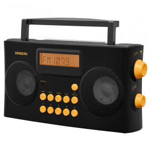 SANGEAN AM/FM-RDS Portable Radio Designed for Visually Impaired