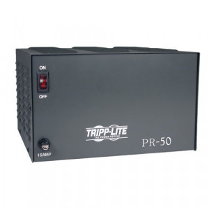 TRIPPLITE 13.8VDC 50-Amp Precison Power Supply