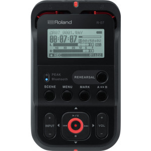 ROLAND High-Resolution Audio Recorder Black