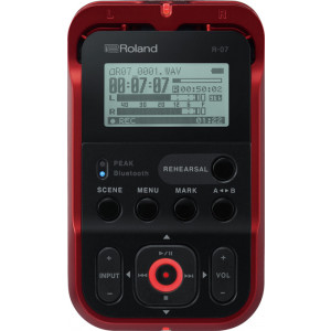 ROLAND High-Resolution Audio Recorder Red