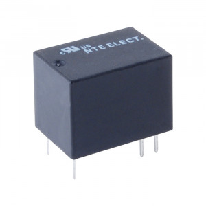 NTE Subminiature Relay 12VDC 1A PC Mount