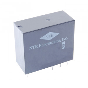 NTE Epoxy Sealed Relay 12VDC 16A DPDT PC Board Mountable