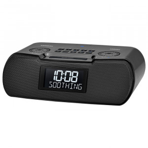 SANGEAN FM-RDS(RBDS)/AM/Bluetooth/Aux-in/USB Charging Digital Tuning Clock Radio & Sound Soother