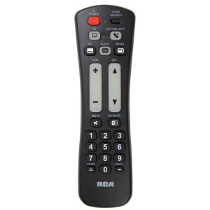 RCA Universal Remote Control for 2 Devices