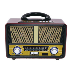 QFX Bluetooth AM/FM/Shortwave Portable Radio with USB Player
