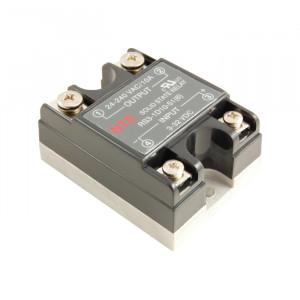 NTE Solid State Relay 3-32VDC Input/24-240VAC 40A