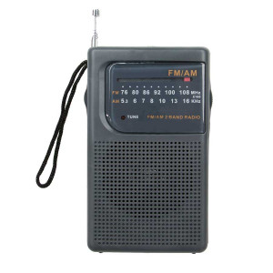 SUPERSONIC AM/FM Pocket Radio