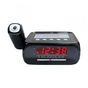 SUPERSONIC Projection Alarm Clock Radio