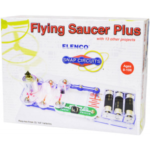 ELENCO Snap Circuits Flying Saucer Plus