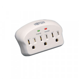 Tripplite 3-Outlet Surge Protector Direct Plug-in