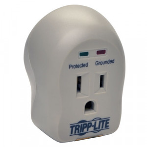 TRIPPLITE 1-Outlet Personal Surge Protector