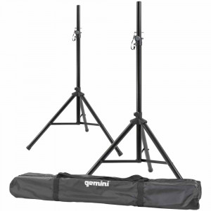 GEMINI 2 Tripod Speaker Stands with Carry Bag