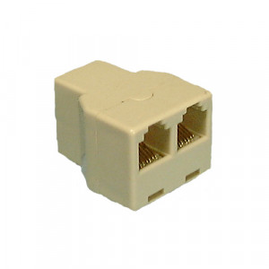 PHILMORE Dual Modular Telephone Adapter