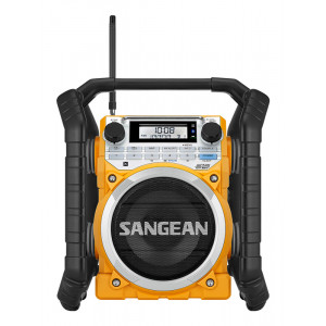 SANGEAN Rugged Radio with Bluetooth