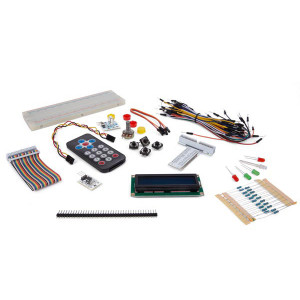 VELLEMAN Electronic Parts Pack for Raspberry Pi