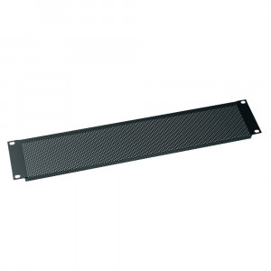 MIDDLE ATLANTIC 2U Vent Panel Perforated with 25% Open Area