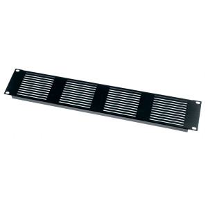 MIDDLE ATLANTIC 2U Vent Panel Horizontal Slots