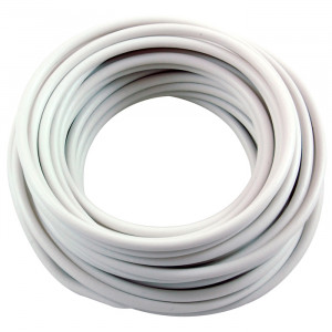 NTE Hook-up Wire 12 AWG Stranded 15ft White