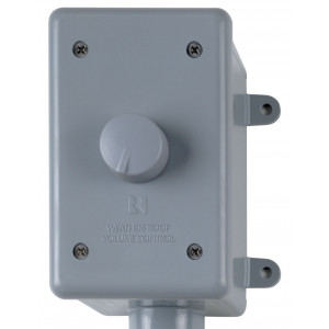 RUSSOUND 126 Watt Weatherproof Volume Control Grey