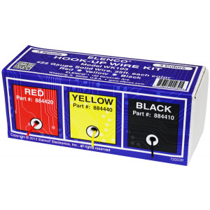 ELENCO 22g Solid Hook-up Wire Assortment 3 Colors