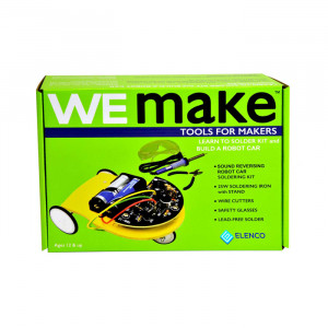 ELENCO WEmake Sound Reversing Car Kit with Tools