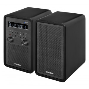 SANGEAN Wooden Cabinet Bluetooth Radio/Receiver